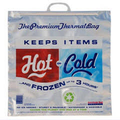 "Large ThermaSnap Hot/Cold Bag 20""x20""x7"""