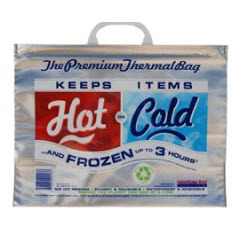 "Small Thermasnap Hot/Cold Bag 15""x6""x12"""