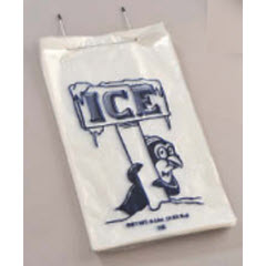 "10lb ""Penguin"" Wire Wicket Ice Bag 12""x22""+2"" 1,000ct"