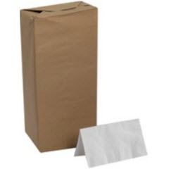 GP Acclaim® White 1-Ply 1/8 Fold Paper Dinner Napkins 31558