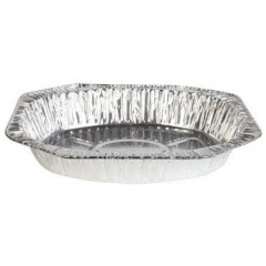 Jiffy Foil Oval Roaster Pan (In Display Box) 75ct. HFA 9105STK75J