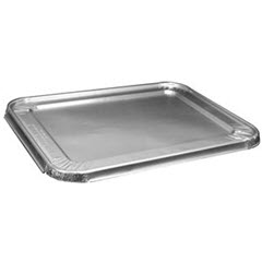 Foil Lid for Jif® 1/2 Size Steam Table Pans 8420