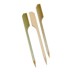 "3.5"" Bamboo Eco-Friendly Paddle Picks 1 Case R801"