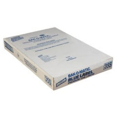 16x24 35# Blue Label Bak-O-Matic® Silicone GPS Pan Liner 1000ct. 35S