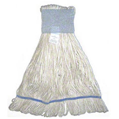 Pride Cotton 4 Ply Looped-End Mop -Medium, Wide 1 ct 2194