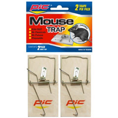 Wood Mouse Trap 2ct. MTW-2