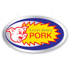 """Lean Juicy Pork"" Foil Label PSF-77"