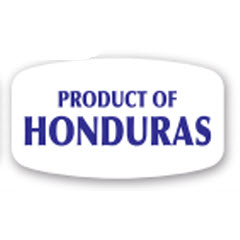 """Product of Honduras"" Label EPB-HO"