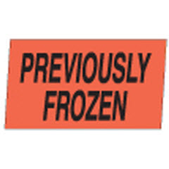 """Previously Frozen"" Dayglo Label M100233"