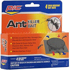 PIC® Ant Killer Bait Child Resistant Trap 4ct. AT-4